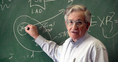 James Peck intervista Noam Chomsky